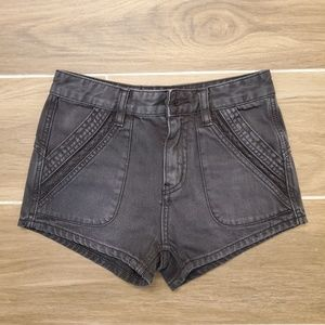 Free People denim shorts, never worn or washed